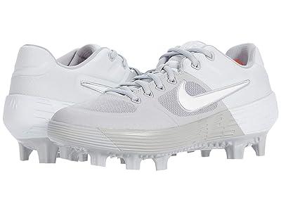 Nike Alpha Huarache Elite 2 Low MCS (Wolf Grey/White/Purple Platinum) Men