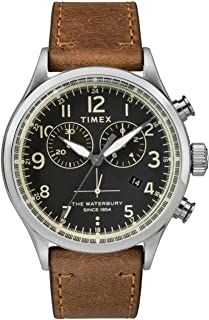 Timex Mens Chronograph Quartz Watch Waterbury Traditional
