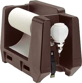Cambro HWAPR131 Dark Brown Handwashing Station with Soap Dispenser