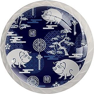 Poignées de Tiroir pour armoire,tiroir,coffre,commode,etc.. Éléments asiatiques chinois japonais