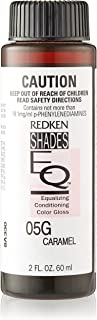 Redken Shades EQ Equalizing Conditioning Gloss Demi-Permanent Hair Colour, 05G Caramel, 60 ml
