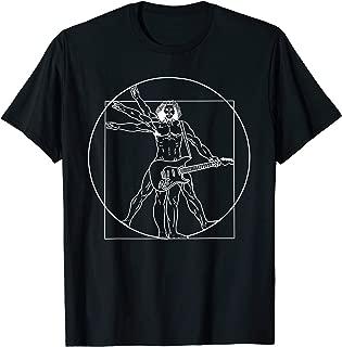 da vinci t shirt guitar