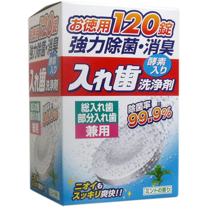遺体安置所珍しいシェル入れ歯洗浄剤 酵素入 総入れ歯?部分入れ歯兼用