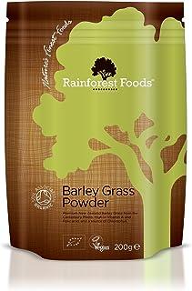 Rainforest Foods Organic New Zealand Barley Grass Powder 200g