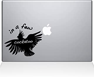 """The Decal Guru In a Few Cockatoo MacBook Decal Vinyl Sticker  - 15"""" Macbook Pro (2016 & newer) - Light Blue (1097-MAC-15X-LB)"""