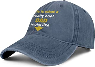 Baseball Hat Mens Womens is What A Really Cool Dad Looks Like Dad Cap Casual