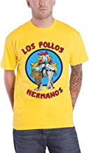 Officially Licensed Merchandise Breaking Bad Los Pollos Hermanos T-Shirt (Yellow)