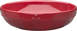 Signature Housewares Sorrento Collection Set of 4 Pasta Bowls, 8-Inch, Ruby