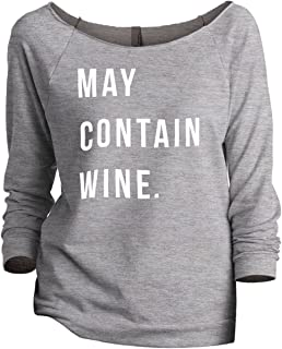 may contain wine sweatshirt