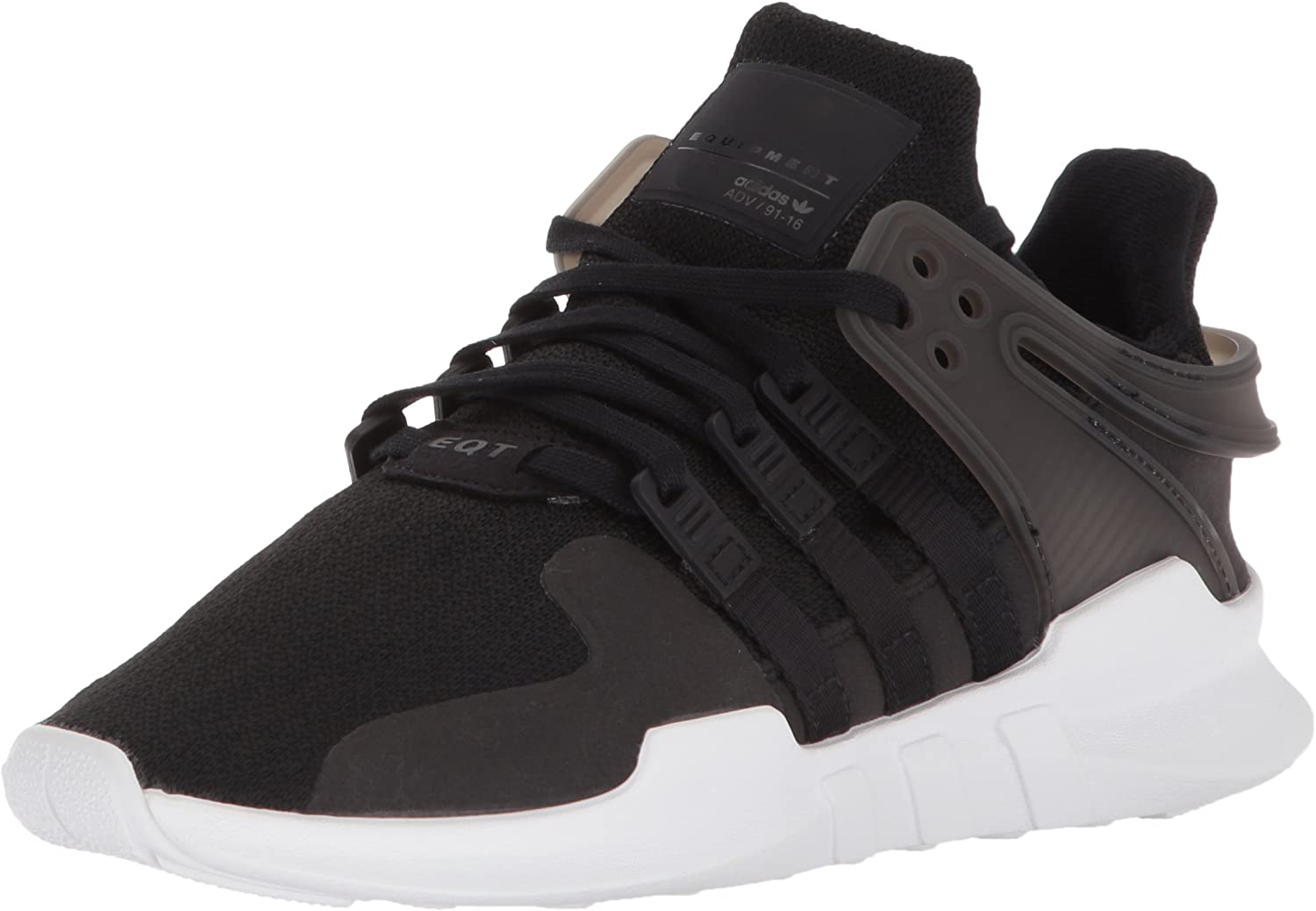 cf539025 Adidas Boys' EQT Support ADV J shoes, Black White, 6.5 M US Big Kid Running  Originals nnjpkd6446-Sporting goods