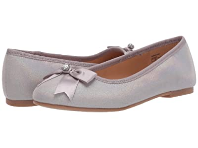 Badgley Mischka Kids Amber May (Little Kid/Big Kid) (Silver) Girl