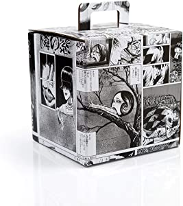 JUST FUNKY Junji Ito Collectors LookSee Box | Mystery Box Collectors Items | Bundle of Anime Toys and Accessories | Fun Geeky Gift Box | 5 Themed Toy Collectibles