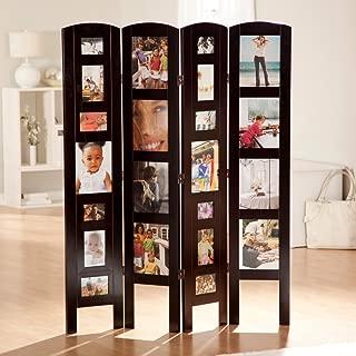 Memories Photo Frame Room Divider - 4 Panel