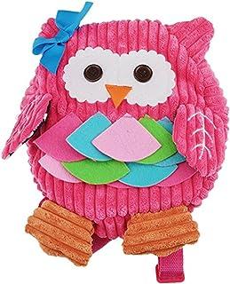 (1-6Y)Kids Plush Formaldehyde-Free Backpack Cute Baby Shoulder Bags,