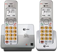 AT&T EL51203 DECT 6.0 Phone with Caller ID/Call Waiting, 2 Cordless Handsets, Silver (Renewed) photo