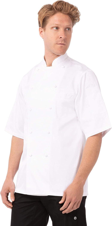 Chef Works Unisex Capri Premium Cotton Chef Coat: Clothing, Shoes & Jewelry