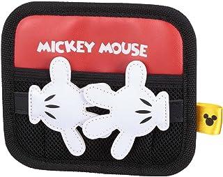 ナポレックス 車用 収納ポケット ミニタイプ ディズニー ディズニー メッシュポケット ミッキー 粘着シート付 簡単取付 NAPOLEX WD-287