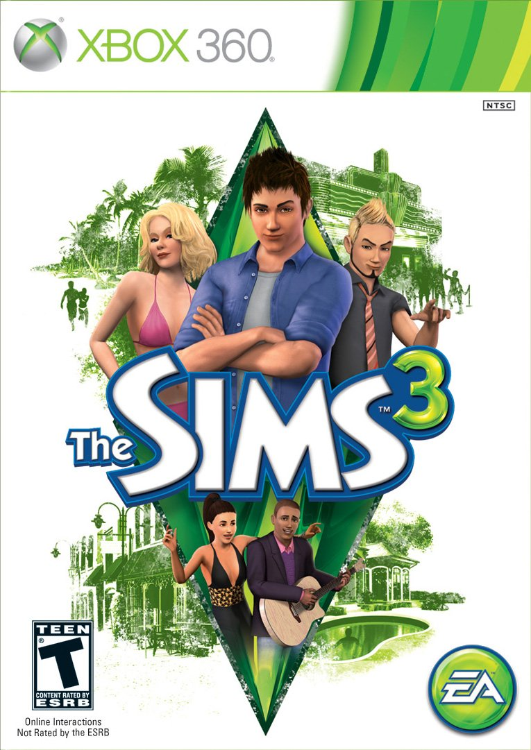 supreme The Popular products Sims 3 360 Xbox -