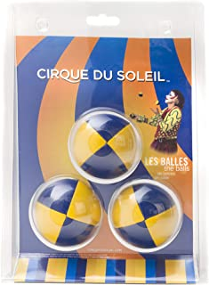 Cirque du Soleil Juggling Balls Set of 3 with Instructions