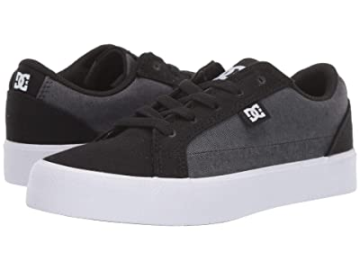 DC Kids Lynnfield TX SE (Little Kid/Big Kid) (Black/Armor) Boys Shoes