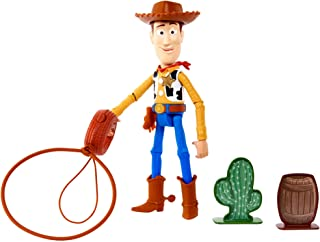 Disney and Pixar Toy Story Launching Lasso Woody Talking Feature Figure, Movie Inspired Action Character Doll 9.2-in / 23....