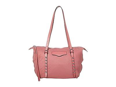 Rebecca Minkoff Bowie Small Nylon Tote (Fig) Handbags