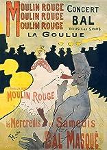 Henri de Toulouse-Lautrec Moulin Rouge c1891250gsm Brillante Art Tarjeta A3reproducción de póster