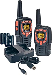COBRA ACXT545 Walkie Talkies - Rechargeable, Long Range 28-Mile Two Way Radio Set with VOX ( 2 Pack )