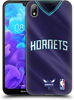 Official NBA Road Jersey 2018/19 Charlotte Hornets Hard Back Case Compatible for Huawei Y5 (2019)