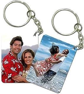 Bhaiji Enterprises Multicolor Key Case Personalized With Photo(Set Of 2)