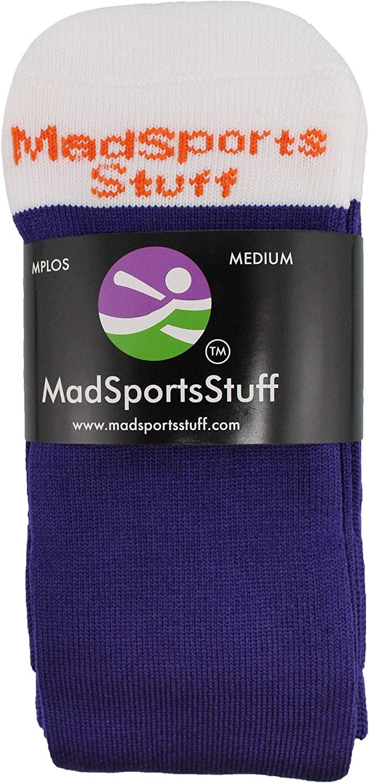 MadSportsStuff Baseball Socks for Boys or Men Girls or Women Youth and Adult Sizes