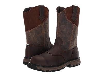 Caterpillar Leeward Steel Toe (Classic Brown Full Grain Leather) Men