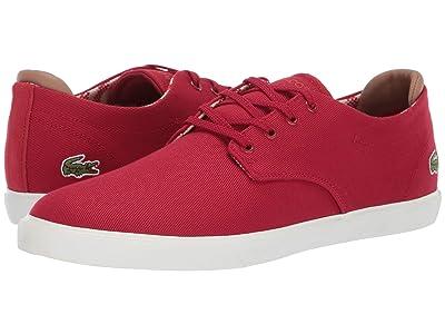 Lacoste Esparre 219 1 CMA (Red/Off-White) Men