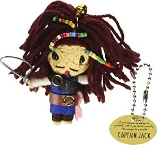 Watchover Voodoo Captain Jack Toy Keychain/Backpack, Multicolor, X-Large/One Size