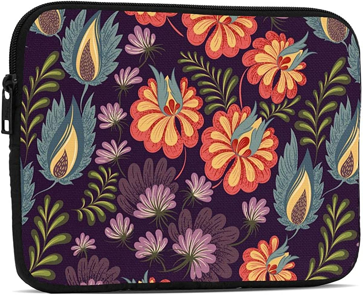 Colorful Flower iPad Mini Long Beach Mall Case Sleeve T Shockproof Bargain sale 5