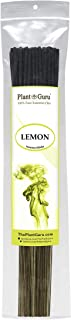 Plant Guru Lemon Incense Sticks 185 Grams in Each Bundle 85 to 100, Premium Smooth and Clean, Each Stick is 10.5 Inches Long Burn Time is 45 to 60 Minutes Each.