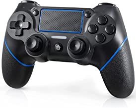 Wireless Controller for PS4, YAMAYDAY Wireless Game Controller Compatible with PS4/Slim/Pro/3/PC, Remote Controller for Playstation 4 Console with Dual Vibration