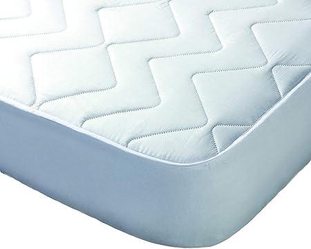 Todocama - Protector de colchón/Cubre colchón Acolchado, Impermeable, Ajustable y antiácaros. (Cama 105 x 190/200 cm)