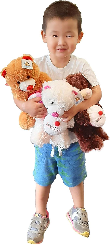 Plush Teddy Bear with Bombing new work Cupcake Sweet of 1 year warranty Love 3 Set 10