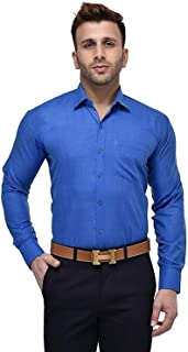 Super weston Cotton Shirts for Men for Formal Wear,100% Pure Cotton Shirts,Normal Wear Shirts, M=38,L=40,XL=42,6 Colors Available