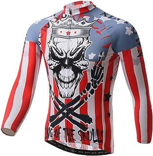 Xinzechen Thermal Fleece Cycling Jersey Long Sleeve