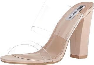 Steve Madden Womens Jubilee Open Toe Casual Slide Sandals