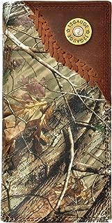 Custom 3D Belt Company 12 Gauge Long Checkbook Realtree AP Camo Wallet