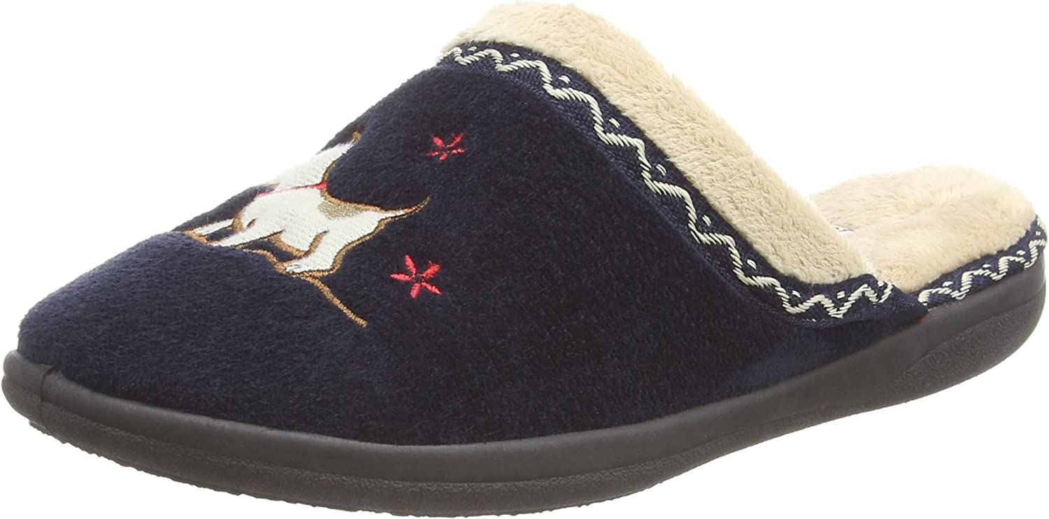 PADDERS Women's Scotty Lined Mule Slippers