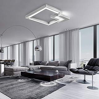 Techo de luces LED, liso cambio del color de 42W, luz blanca con 61cm, iluminación de techo, luz pendiente Pasillo, baño, ...