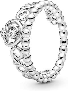 Best pandora tiara ring silver Reviews