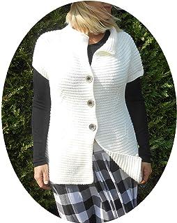 Veste aspect laine bouillie.: : Vêtements et