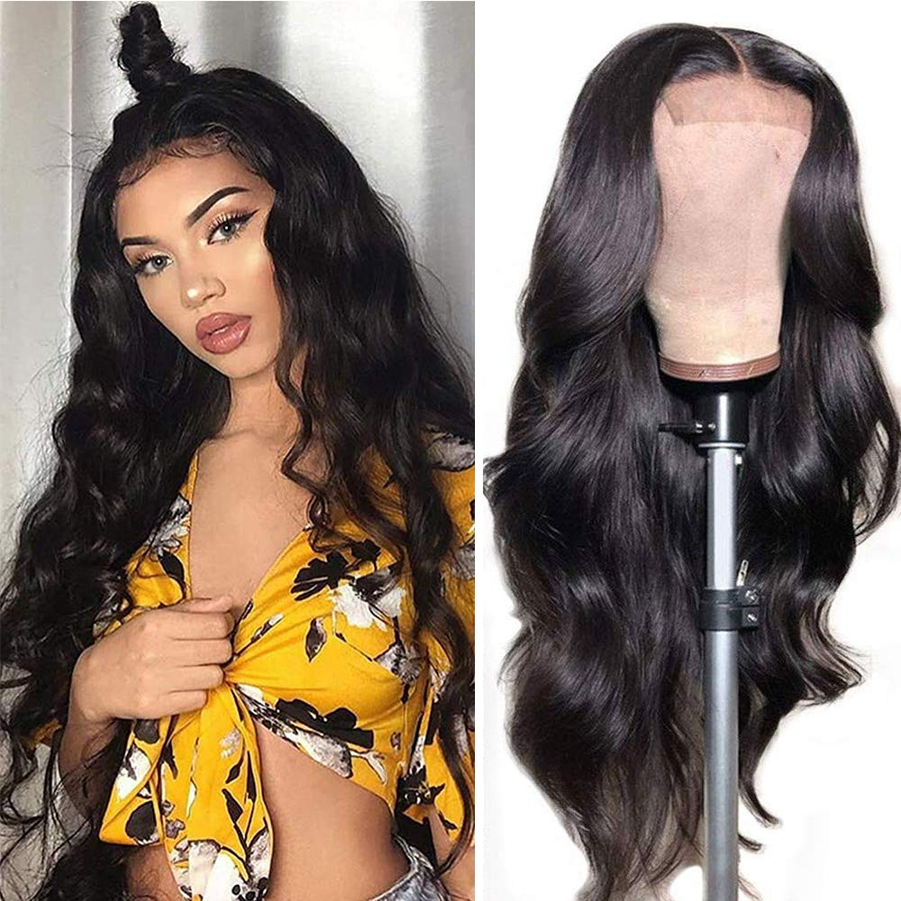 Max 80% OFF Body wave Lace Front Wigs Human 150% 4X4 Hair Density Gorgeous Wave
