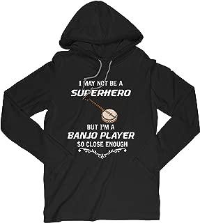 Not Superhero But Banjo Player Funny Gift Tshirt
