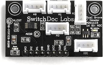 Grove I2C 4 Ch/16 Bit Analog to Digital Converter for Raspberry Pi/Arduino/ESP8266